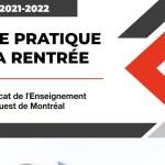Guide pratique de la rentrée 2021-2022 | Éducation des adultes