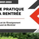 Guide pratique de la rentrée 2021-2022   Secondaire