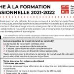 Tâche 2021-2022   Formation professionnelle