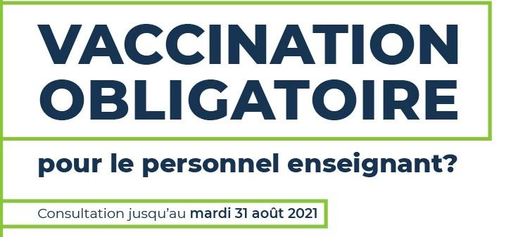 La FAE lance une consultation sur la vaccination obligatoire