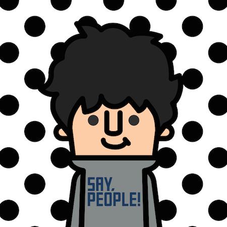 アイコン作成アプリ「SAY,PEOPLE!」でお洒落なアバターを作ってみた