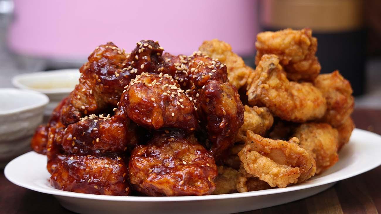 Korean Fried Chicken Recipe Video Seonkyoung Longest