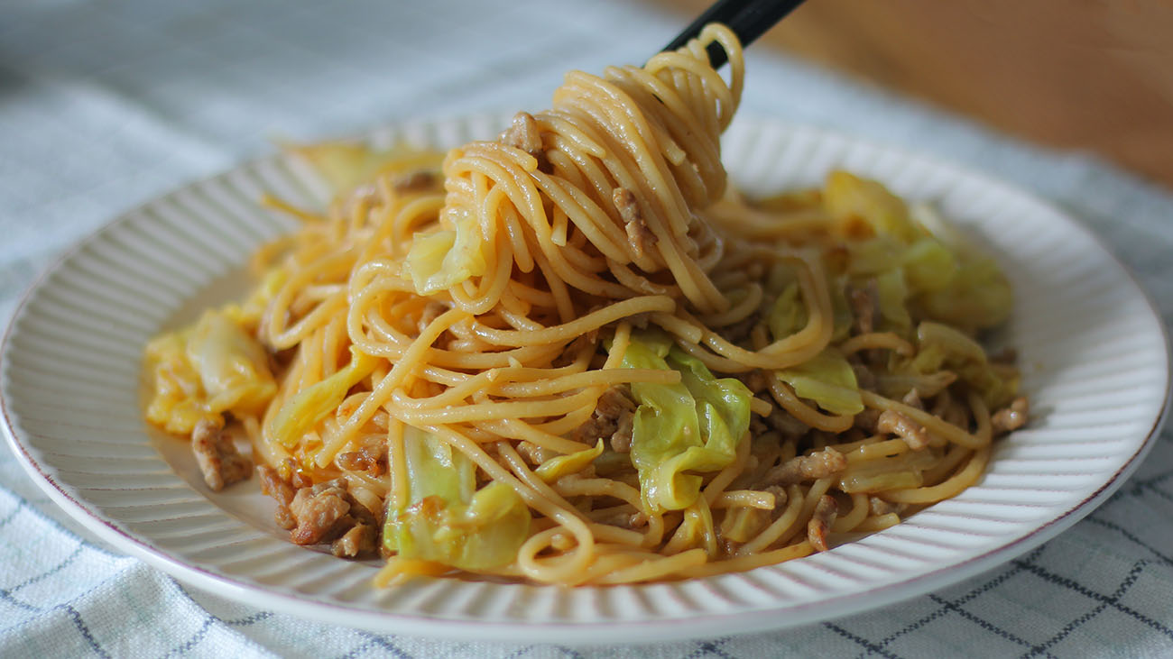 Miso Butter Spaghetti Noodles Recipe Video Seonkyoung Longest