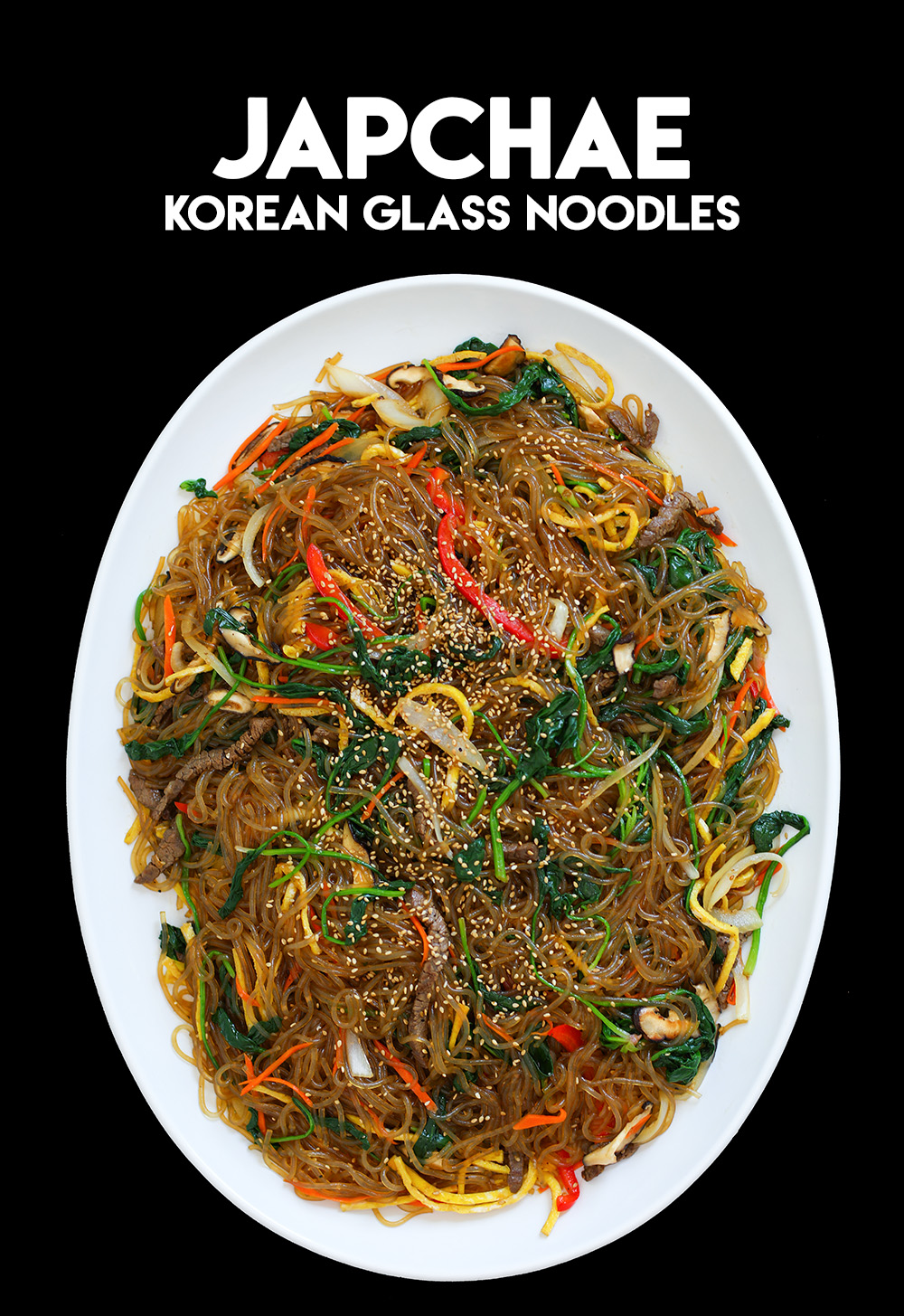 japchae recipe video Japchae Korean Glass Noodles