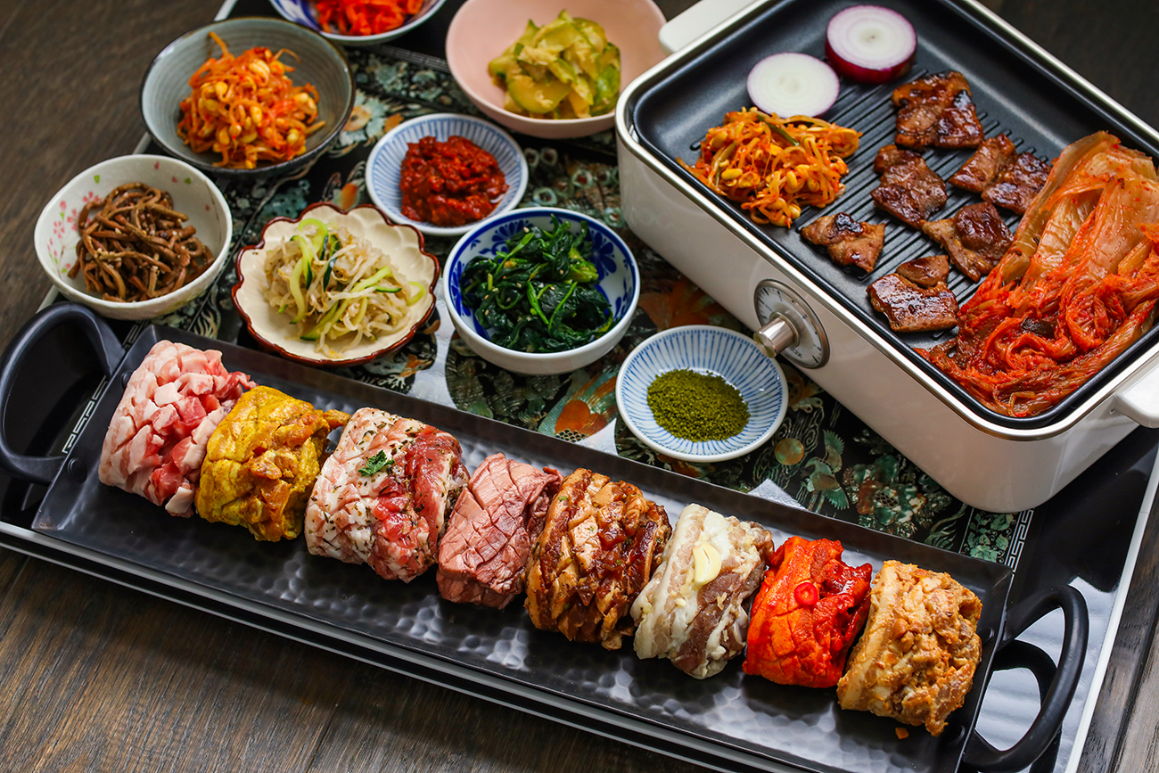 The Best Korean Bbq Samgyeopsal 8 Flavors Pork Belly Seonkyoung