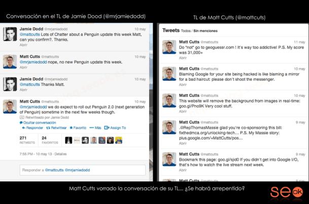 Desaparece el tuit que anuncia la aparición de Penguin 2.0