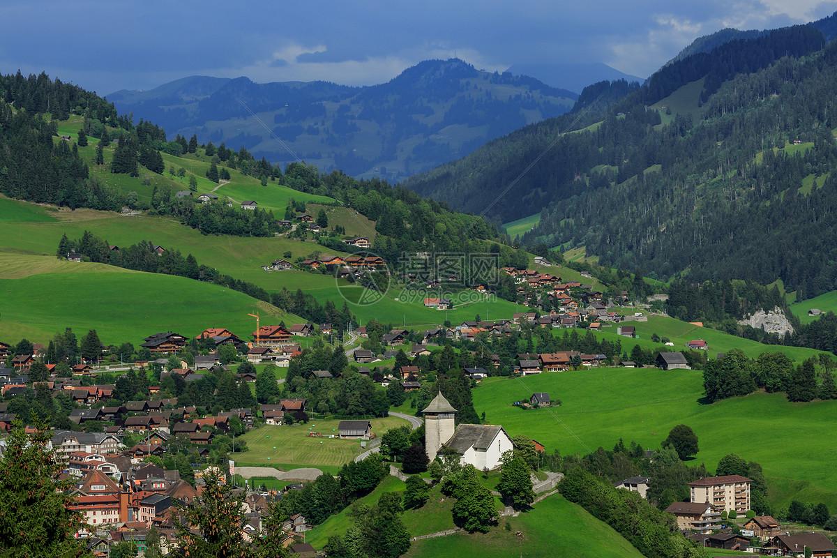 瑞士旅游 歐洲瑞士湖光山色高清圖片下載-正版圖片500673032-攝圖網