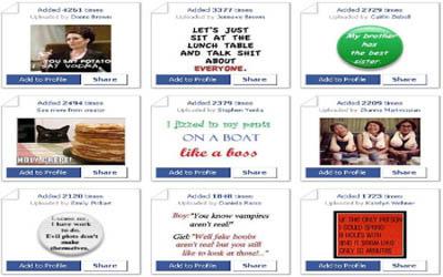 Facebook Фейсбук игра - Bumper Sticker