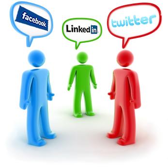 Основните социални мрежи, които аз самия препоръчвам