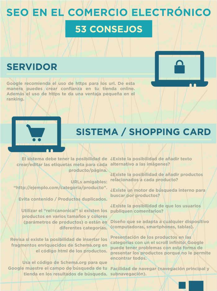 consejos para optimizar tiendas en línea para motores de búsqueda