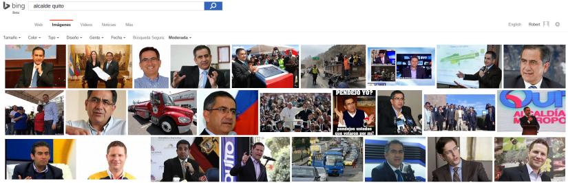 Bing: fotos del Alcalde