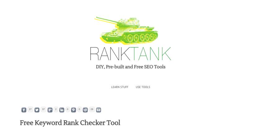 Chequear los rankings de páginas web para distintas palabras clave en los motores de búsqueda.