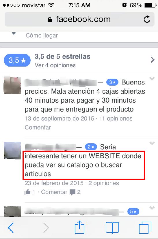 No existe un catálogo de productos: Hipermarket Valle de los Chillos