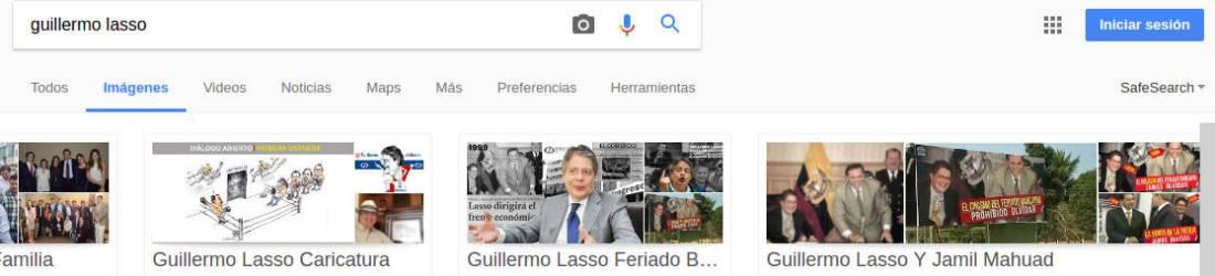 Resultados por Guillermo Lasso (imágenesI