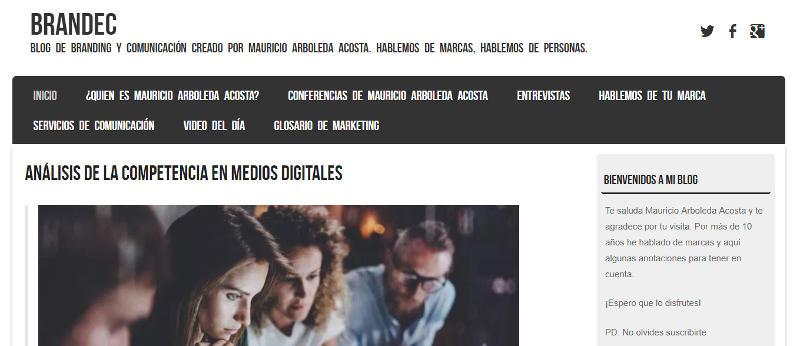 Branded: blog de Mauricio Arboleda Acosta.