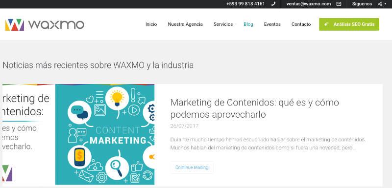 Waxmo.