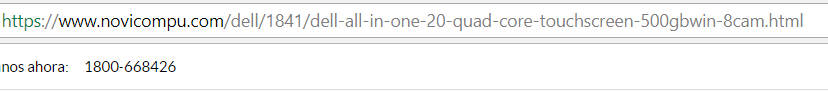 URL amigable.