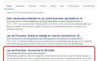 Resultados de búsqueda Ley de Plusvalia.