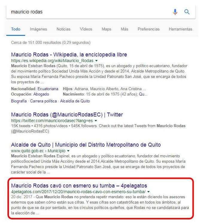 Resultados de búsqueda por Mauricio Rodas.