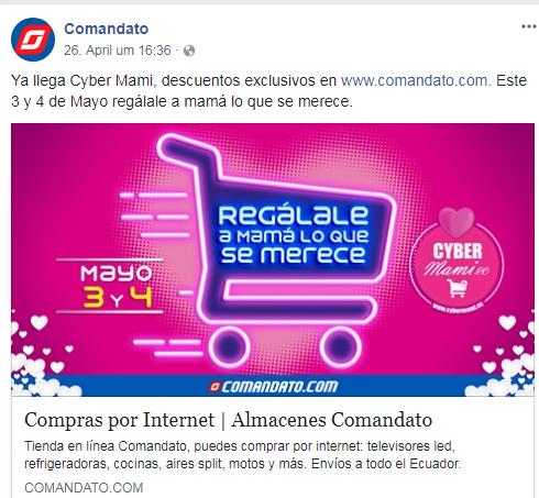 Facebook Comandato.
