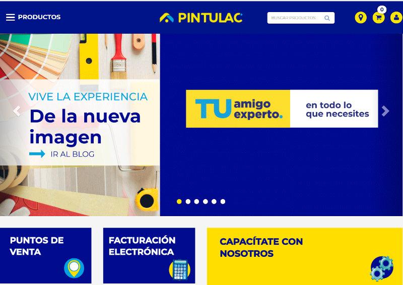 Sitio web Pintulac.