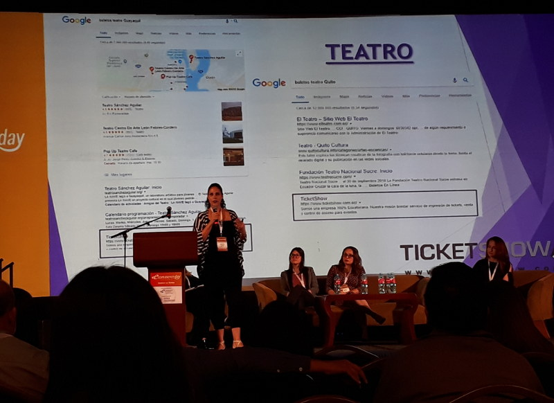 Gisela Gallati de TicketShow.