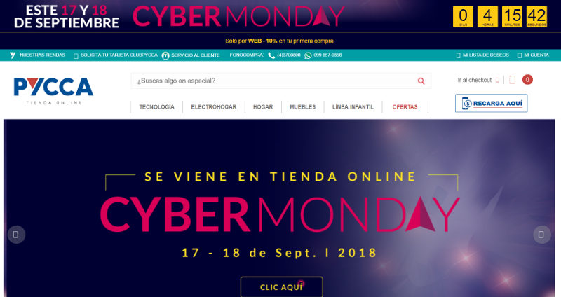 Sitio web de Pycca con información sobre el evento.