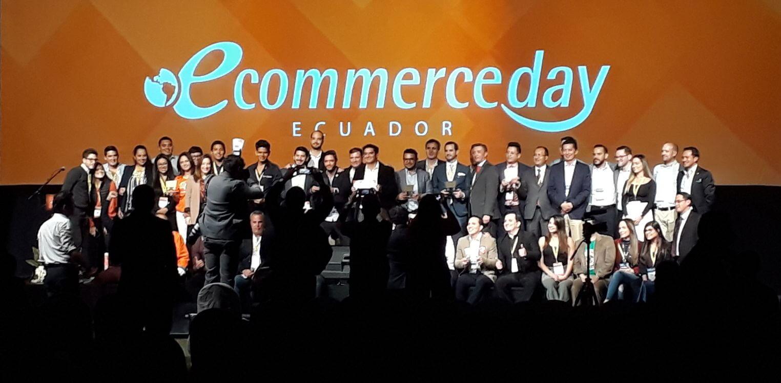 Ganadores eCommerce Awards Ecuador 2019.