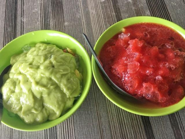 D'wiscar sop buah , cemilan di jatinangor