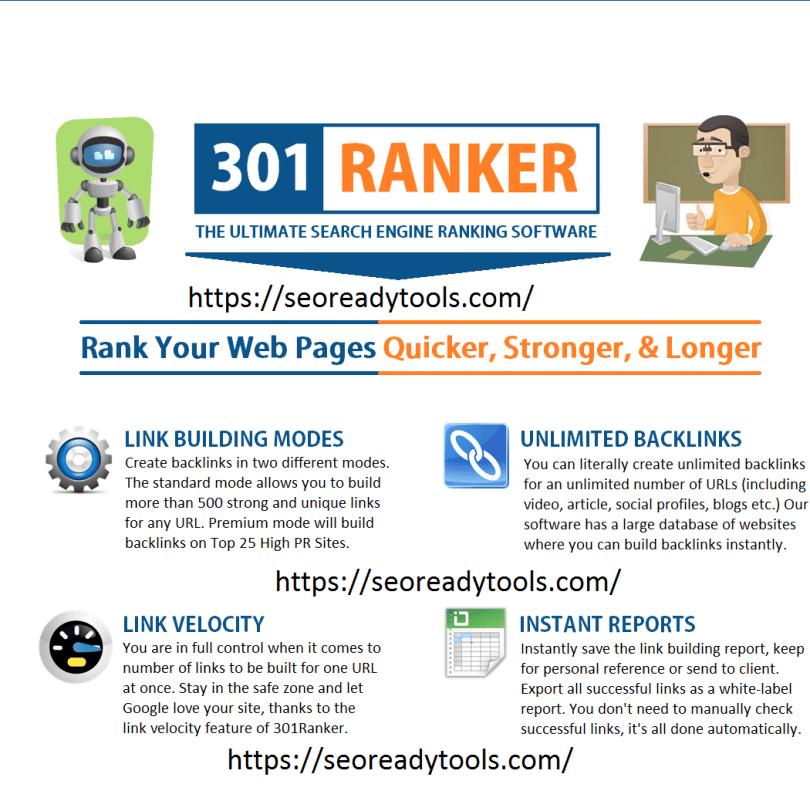 301 Ranker Pro Cracked With Keygen