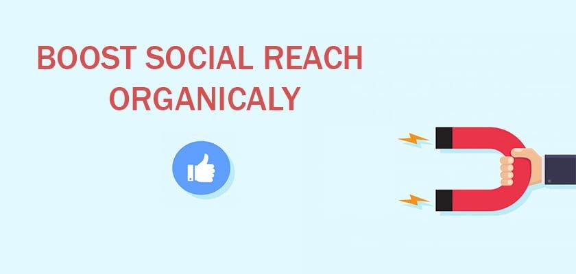boost social media reach organically