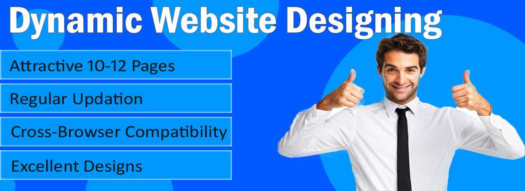 dynamic website designing packages