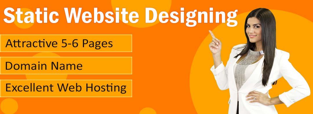 static website design packages