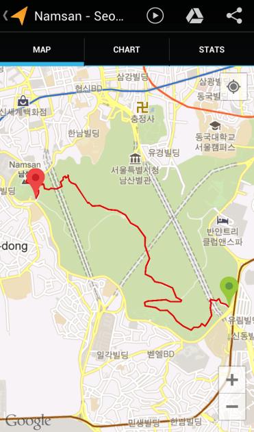 Namsan (1:39:58, 4.39 km)
