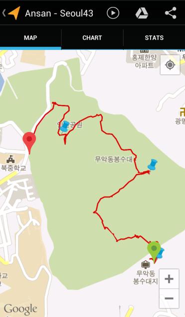Ansan (1:53:13, 3.16 km)