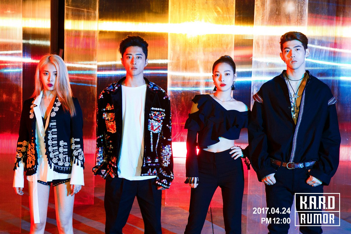 K.A.R.D Completes Pre-Debut Projects with Rumor