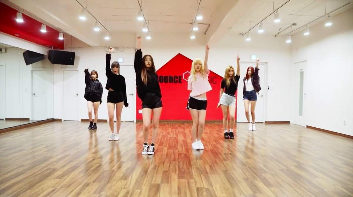 Cute Concept Girl Group Dances Get More Challenging