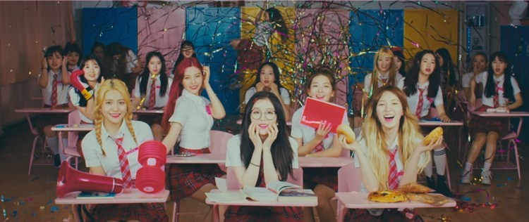 Red Velvet Shows Dynamism in Cover of Rebirth