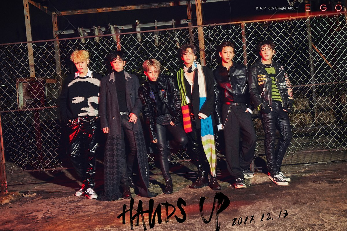 "Put Your ""Hands Up"" for B.A.P's ""Ego"""