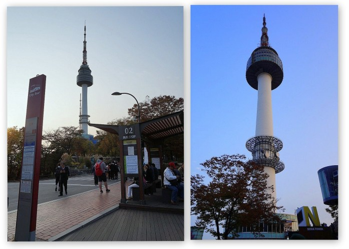Seoul Tower collage