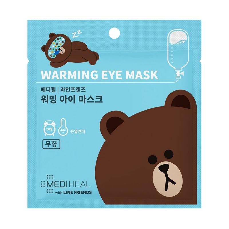 Mediheal Warming Eye Mask with Line Friends