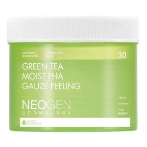Neogen Green Tea Moist PHA Gauze Peeling Pads