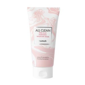Heimsih pink clay purifying wash off mask