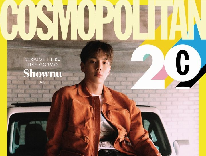 MONSTA X's Shownu Charms In The Latest Pictorial For Cosmopolitan Korea