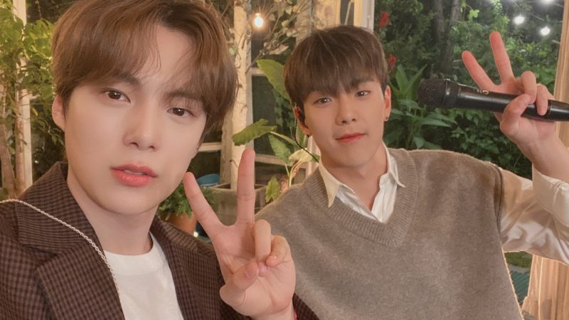 """MONSTA X's Shownu And Minhyuk Reveal A Sweet Live Clip Of Their OST Track """"HAVE A GOODNIGHT"""""""