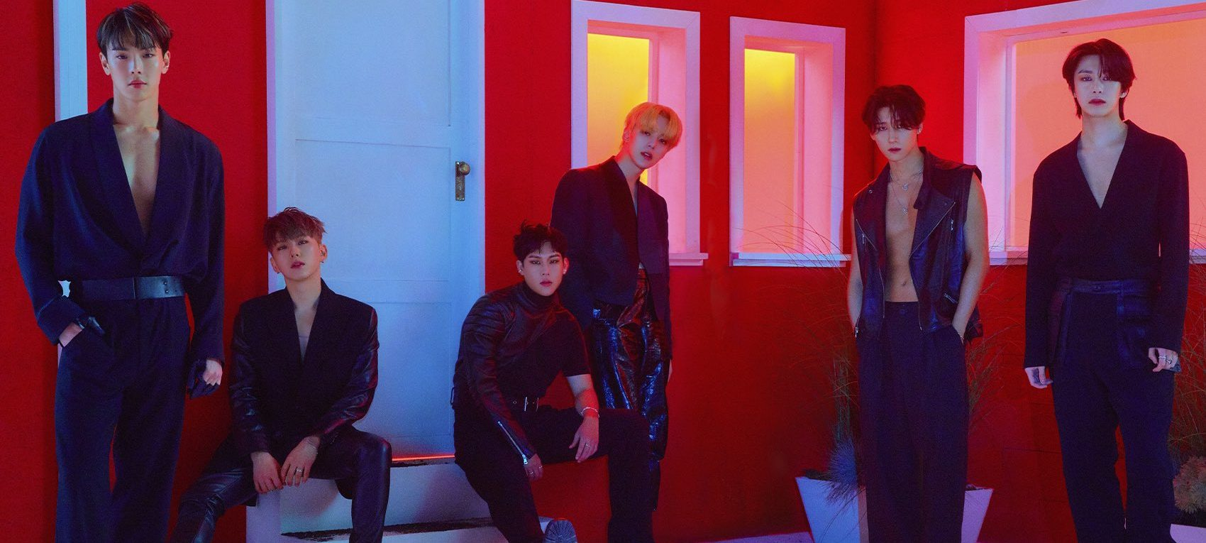 MONSTA X Personifies Flamboyance In New Concept Photos