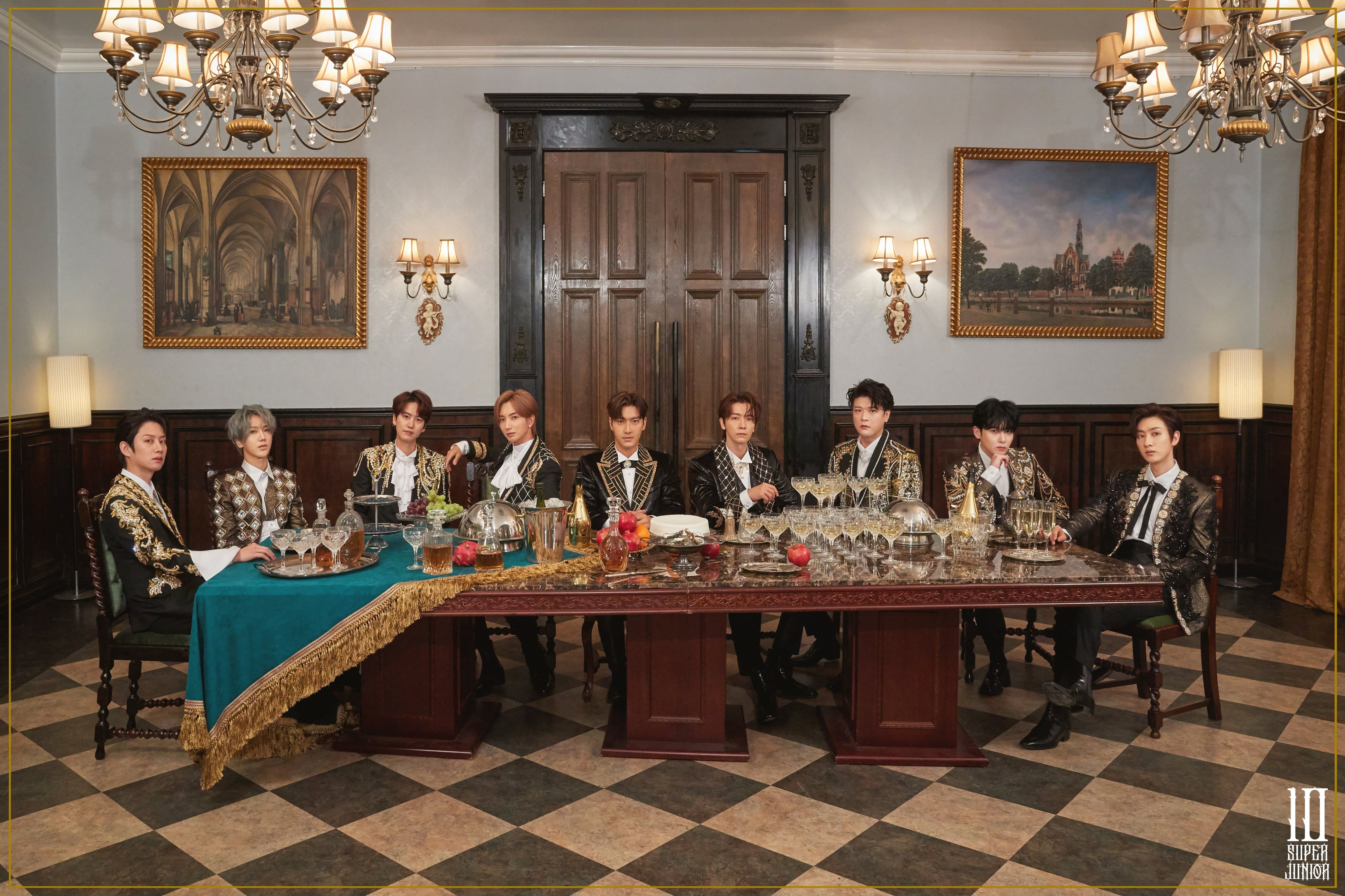 """Super Junior To Unveil """"The Renaissance"""" In February"""