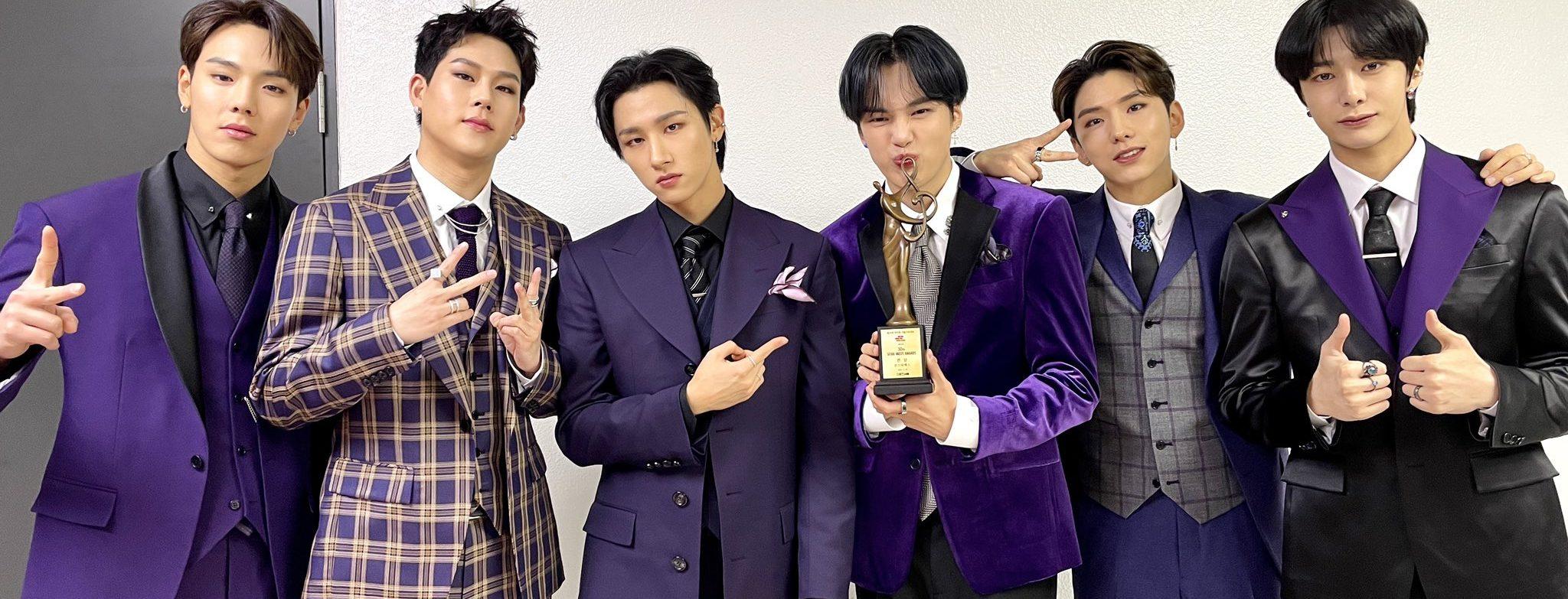 "MONSTA X Wins Bonsang At The ""30th High1 Seoul Music Awards"""