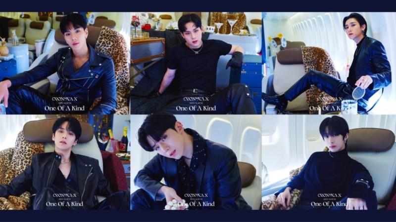 MONSTA X Channels Their Ferocious Glam In Their Third Set Of Concept Photos