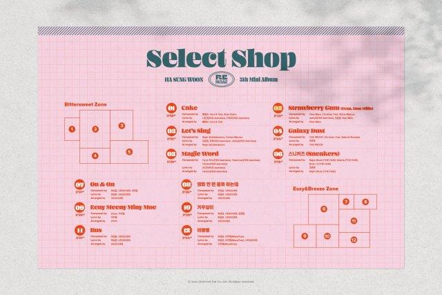 Ha Sung Woon Track List